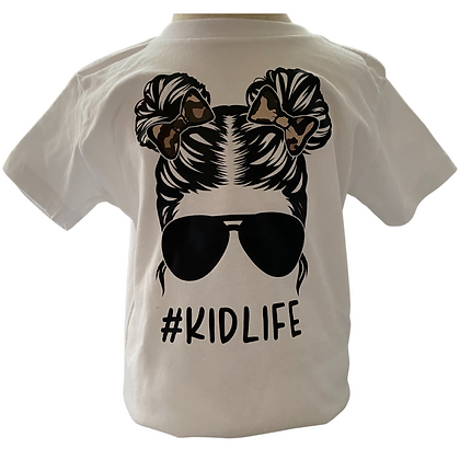 Kidlife Leopard, Black Glasses