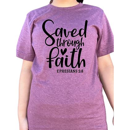 Saved through faith