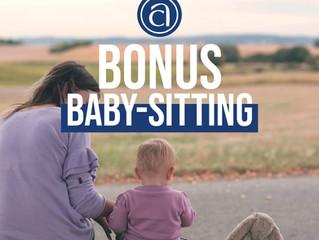 BONUS BABY SITTING - COVID19
