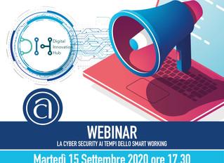 """Terzo seminario """"La Cyber Security ai tempi dello Smart Working"""""""