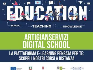 Nasce Digital School la nuova piattaforma #e-learning dedicata alla formazione