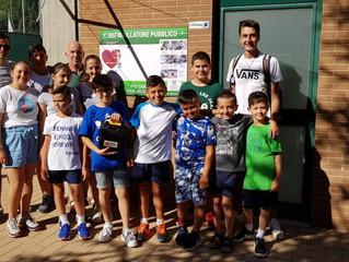 I ragazzi dell'A.S.D Montefalco Tennis Forever ringraziano