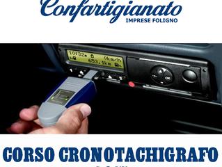 AUTOTRASPORTI:formazione obbligatoria CORSO CRONOTACHIGRAFO per conducenti