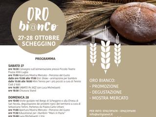 """ORO BIANCO"" SCHEGGINO 27-28 OTTOBRE"