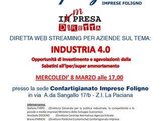 SEMINARIO WEB STREAMING:IMPRESA DIRETTA - INDUSTRIA 4.0