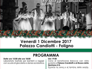 Telethon Venerdì 1 Dicembre 2017- Foligno Palazzo Candiotti