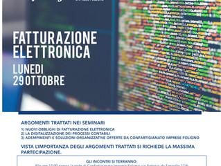 Seminari29 ottobre Fatturazione Elettronica
