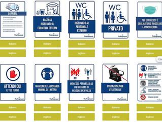 Cartelli obbligatori da esporre anche in lingua inglese