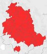 Domani l'Umbria in zona Rossa