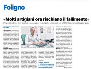 Intervento del Presidente Anaepa-Confartigianato Foligno Enrico Ricci sulla situazione attuale a cau