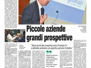 Il Presidente Mauro Franceschini fa il punto sulle aziende Artigiane