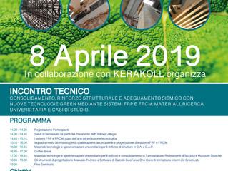 Incontro Tecnico GRATUITO lunedì 8 aprile: consolidamento, rinforzo strutturale e adeguamento sismic