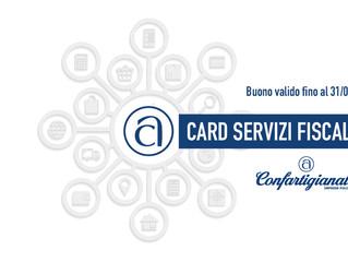 Ritira la Tua Card per usufruire di sconti vantaggiosi per la Tua Dichiarazione dei Redditi 2020