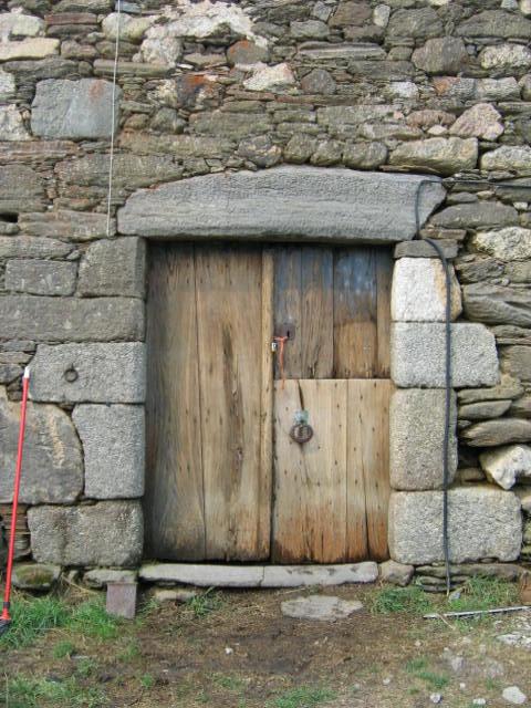 Clean front door