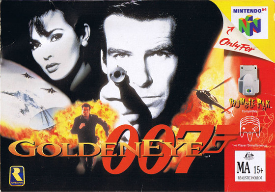 S1 EP13 GoldenEye 64/3D Style Game