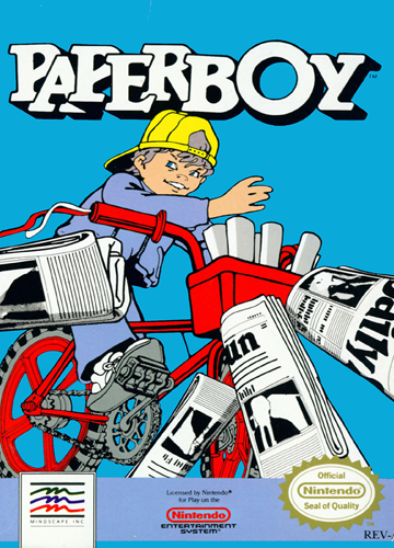 S1 EP10 Paperboy/Rage Quitting