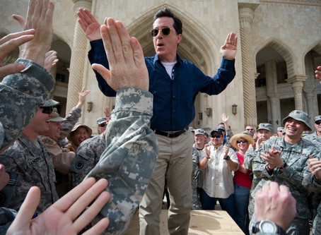 This Day in Debate History! Celebrating Stephen Colbert! Great Debater & Television Host! (May 13th)