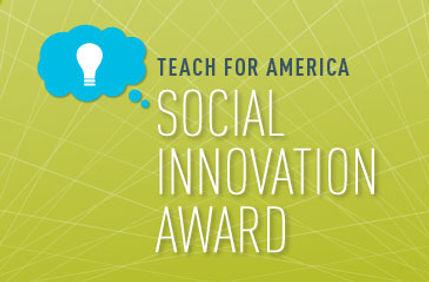 teach for america innovation award - fin