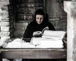 Woman in Tibilisi