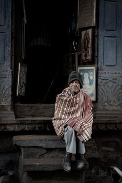 Artist in India