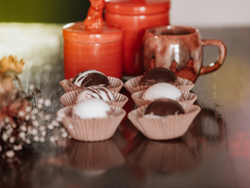 Mom's Homemade Hot Cocoa Bombs