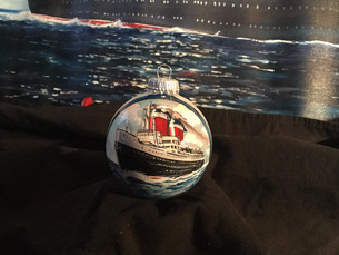 COMING SOON: You can own a hand-painted SS United States ornament!