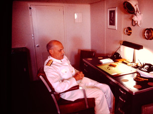 Major Donation of Original Furniture and Artifacts from Captain's Quarters of America's Flagship