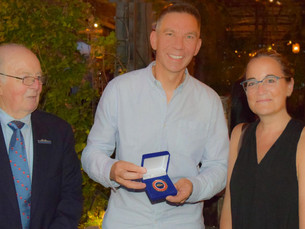 Conservancy presents Blue Riband Award to Casper van Hooren