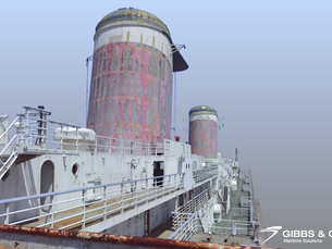 Gibbs & Cox's 3D Scans of the SS United States (Part 4)