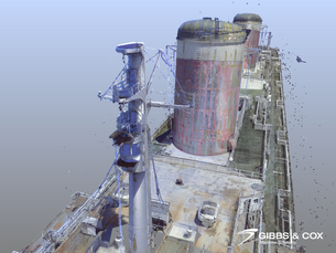 Gibbs & Cox's 3D renders of the SS United States (Part 3)