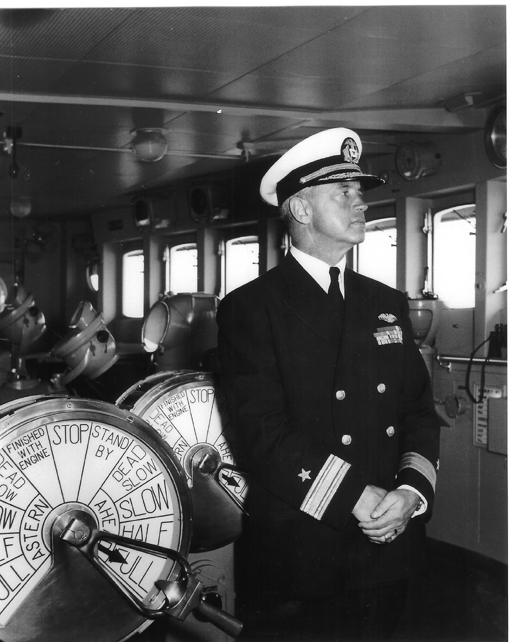Captain Manning. Photo courtesy of Susan Gibbs.