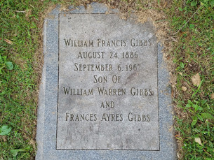 Princeton Cemetery: William Francis Gibbs' Final Resting Place