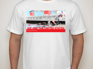 Deadline extended to order exclusive WE ARE THE UNITED STATES t-shirt