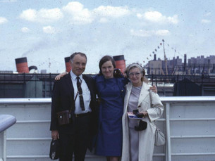 A letter from Janet Riesman, SS United States passenger
