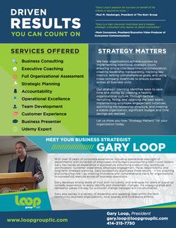 Loop Group Sell Sheet 2