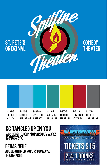 Spitfire Theater Logo