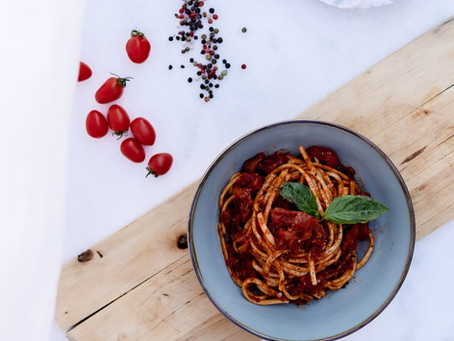 Secret Tomato & Basil Pasta  Sauce