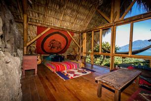 Private Forest Cabin Interior