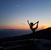 Yoga with view