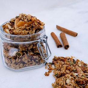 Homemade Super Nutty Granola