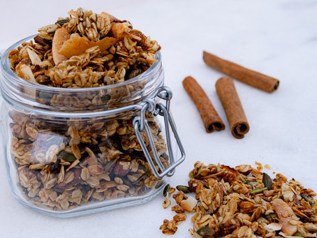 Homemade Super Nutty Granola