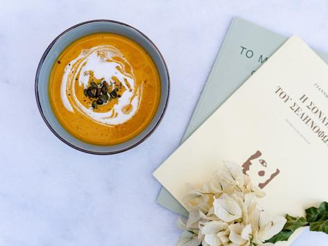 Roasted Pumpkin & Coconut Soup