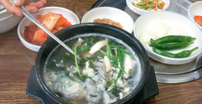 Delicious Korean foods