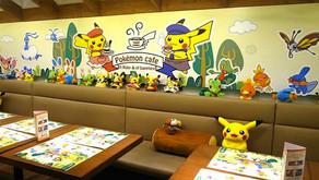 Pikachu and Eievui Café in Sapporo