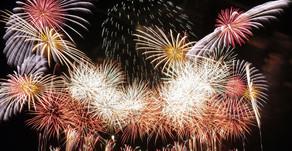 Moerenuma Art Fireworks Display