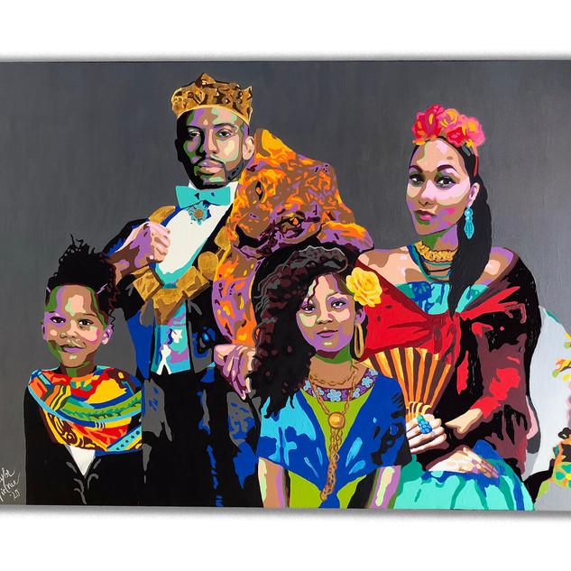 Cultural Family Portrait