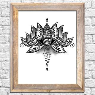 Lotus framed.jpg
