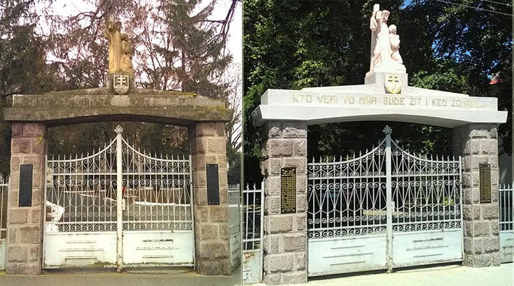 Obec Volkovce, rekonštrukcia pamatníka vojen