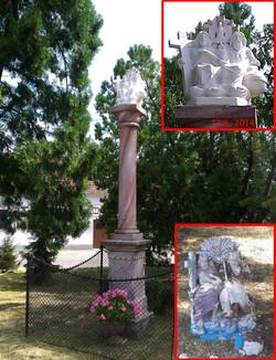 Kópia sochy Sv. Trojice