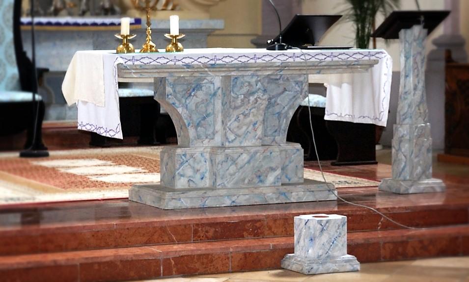 Oltár, Svodín